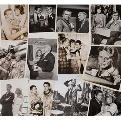 Collection of 64 vintage publicity stills for the original Twilight Zone TV series
