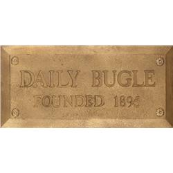 "Original ""Daily Bugle"" sign from The Amazing Spider-Man television series"