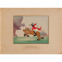 "Goofy in ""How To Ride a Horse"" sequence from The Reluctant Dragon orig. Walt Disney production cel"