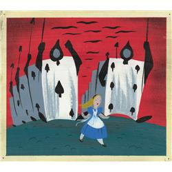 Mary Blair concept artwork from Alice in Wonderland