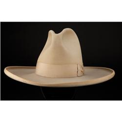Tom Mix signature custom-made cowboy hat with extensive provenance