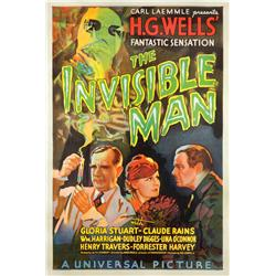 The Invisible Man Stye A one-sheet poster