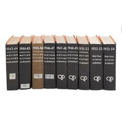 Collection of 18 volumes of the International Motion Picture Herald 1933-1954