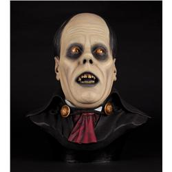 Artists proof life-size Lon Chaney Sr. Phantom of the Opera bust hand-painted by Gino Acevedo