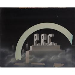 Two variations of PRC Pictures camera logo art