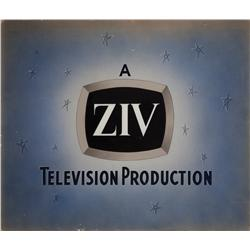 Three variations of camera logo art, including Regent Pictures, ZIV TV, and Screwytone