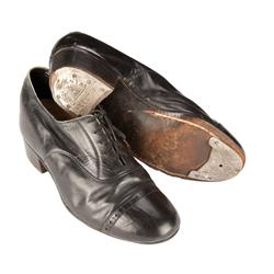 James Cagney's original tap shoes for his sole Oscar-winning performance in Yankee Doodle Dandy