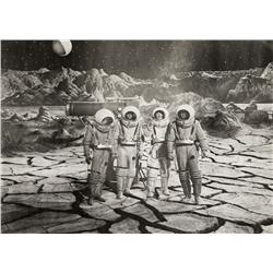 Promotional space suit from Destination Moon