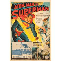 Atom Man vs. Superman Chapter 1 one-sheet poster