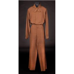 """Screen-used Walter Pidgeon """"Dr. Edward Morbius"""" signature costume from Forbidden Planet"""