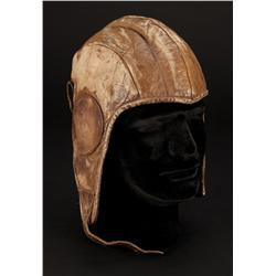 "James Stewart ""Charles Lindbergh"" flight helmet from The Spirit of St. Louis"