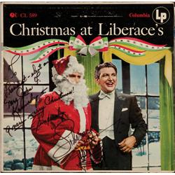 Christmas at Liberace's LP inscribed by Liberace to President-Elect John F. Kennedy