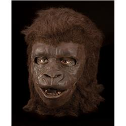 Screen-worn gorilla background mask from Planet of the Apes