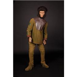 "Screen-used ""Caesar"" chimpanzee costume display from Planet of the Apes"