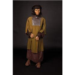 "Natalie Trundy ""Lisa"" costume display from Battle for the Planet of the Apes"