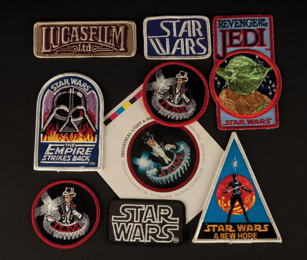 Industrial Light And Magic Year: Collection Of Industrial Light And Magic Employee Star