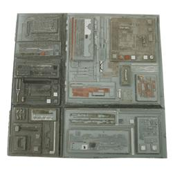 Collection of Death Star surface elements from Star Wars: Episode VI – Return of the Jedi