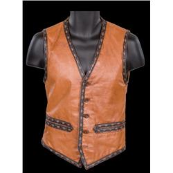 "David Harris signature vest worn as ""Cochise"" in The Warriors"
