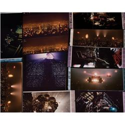Collection of 65mm frame blowups from FX shots from Blade Runner