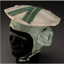 Pair of hats worn on the streets, one Moebius style from Blade Runner