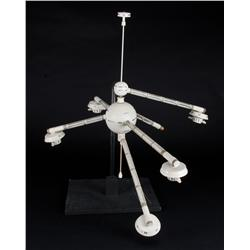 Moonraker space station model from Moonraker