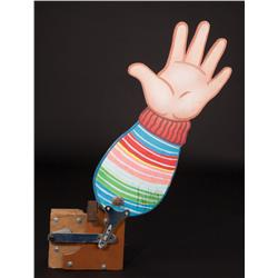 Good Guys toy factory mechanized waving arm from Child's Play 2