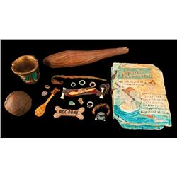 Collection of props from The Flintstones