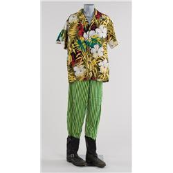 "Jim Carrey ""Ace Ventura"" costume from Ace Ventura: When Nature Calls"