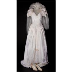 "Julie Delpy ""Serafine Pigot"" wedding dress from An American Werewolf in Paris"