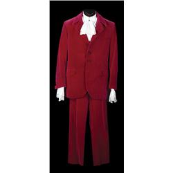 """Mike Myers """"Austin Powers"""" red velvet suit from Austin Powers: The Spy Who Shagged Me"""