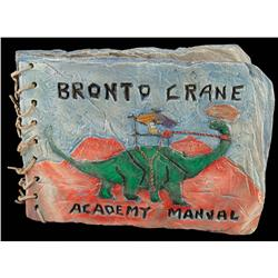 "Jack McGee ""Bronto Crane Academy Manual"" from Flintstones in Viva Rock Vegas"