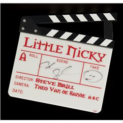 Adam Sandler signed clapperboard from Little Nicky