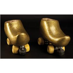 "Mike Myers ""Goldmember"" roller skates from Austin Powers in Goldmember"