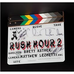 Production-used clapperboard from Rush Hour 2