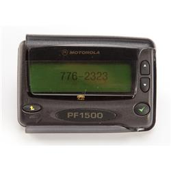 Pager with God's number from Bruce Almighty