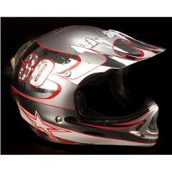 "Cameron Diaz ""Natalie Cook"" motocross helmet from Charlie's Angels: Full Throttle"