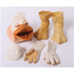 """Ed Gale """"Howard T. Duck"""" rare costume from Howard the Duck"""