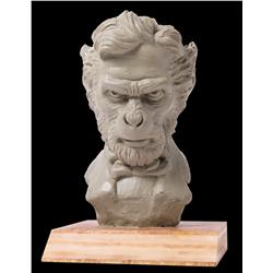 """""""Ape Lincoln"""" bust from Planet of the Apes"""