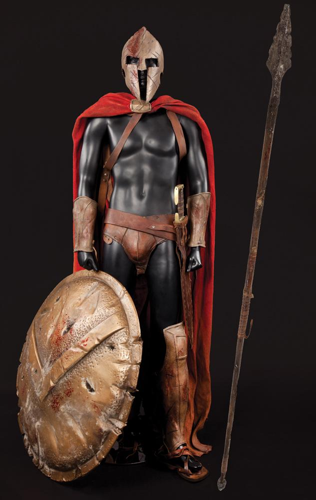 Image 1  Spartan costume with shield sword and spear from 300 ... & Spartan costume with shield sword and spear from 300