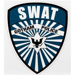 S.W.A.T. patch and van decal from The Dark Knight