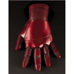 Robert Downey, Jr. Iron Man screen-used wearable Mark III left hand glove