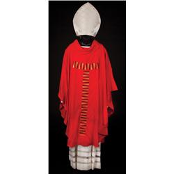 "Franklin Amobi ""Cardinal Lamasse"" costume from Angels & Demons"