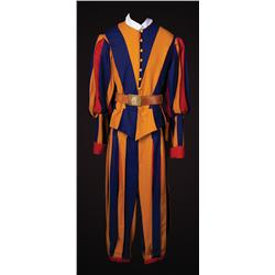 Pair of Swiss Guards costume from Angels & Demons