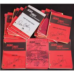 Star Trek: The Next Generation collection of 31 Denise Crosby autographed scripts