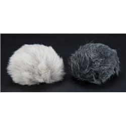 Pair of Tribbles from Trials and Tribble-ations episode of Star Trek: Deep Space Nine