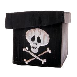 Skull and crossbones box from The Nightmare Before Christmas