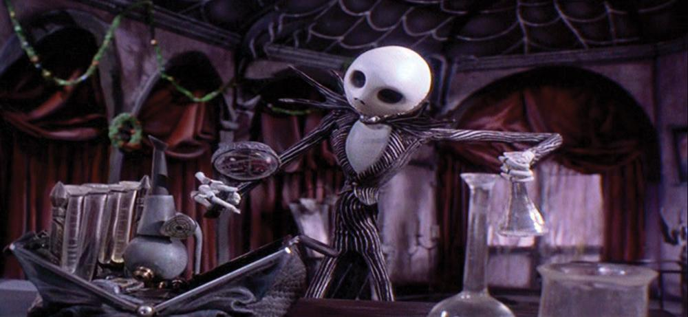 Four walls of Jack Skellington's house from The Nightmare Before ...
