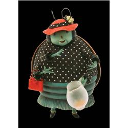 Fully articulated Ladybug puppet from James and the Giant Peach