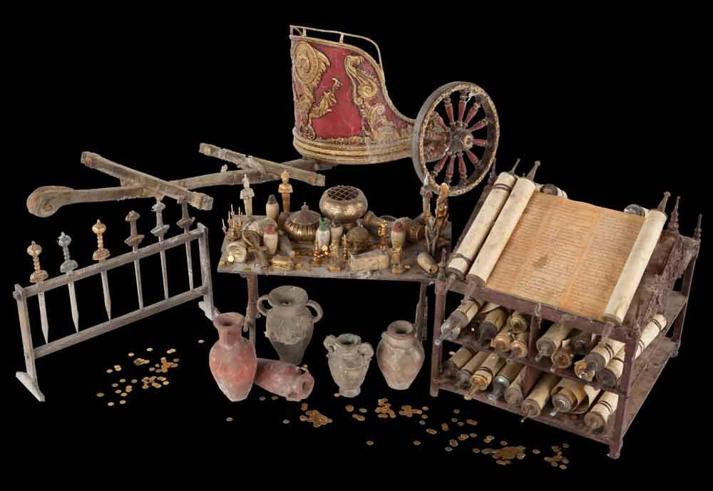 Greco Roman Artifacts From The Treasure Room In National