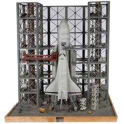 "Russian ""Buran"" space shuttle miniature from BMW ""Rocket"" commercial"